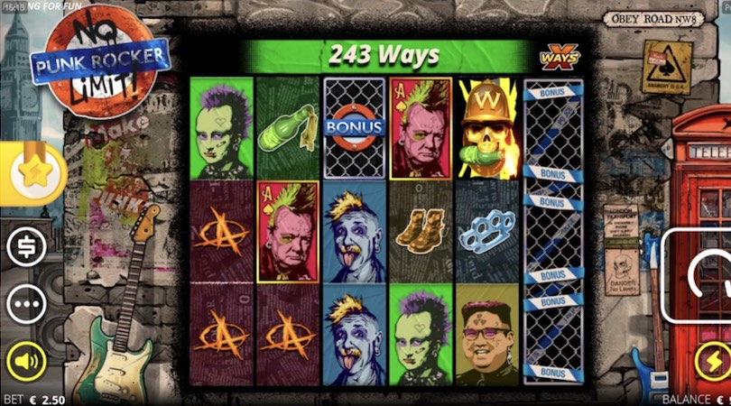 Punk Rocker NoLimit Slot